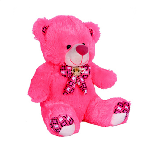 K Flower Soft Teddy Bear