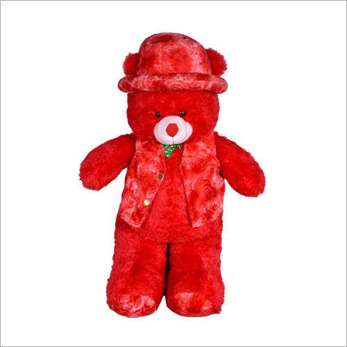 D Cap Long Teddy Bear