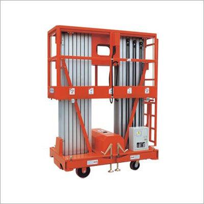 Mobile Aluminium Work Platform (Dual Mast)