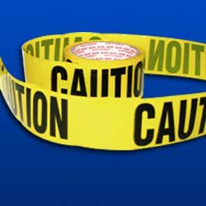 Barricade Safety Tape