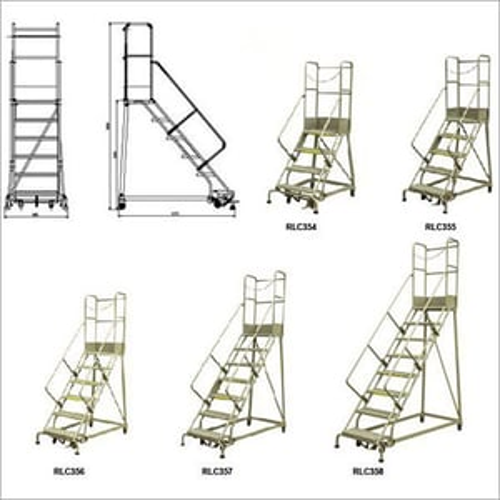 RLC-Series Industrial Steel Ladder