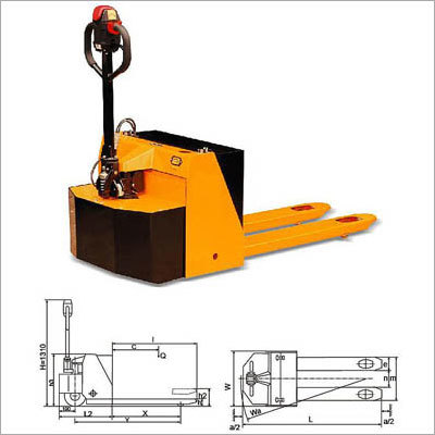 Semi-Electric Se-Series Pallet Truck