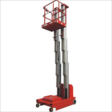 Self Propelled Aluminium Work Platform