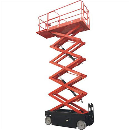 Self Propelled Scissor Work Platform