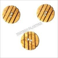 Coconut Shell Fancy Buttons