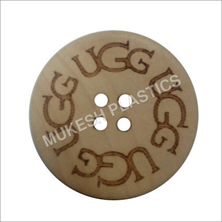 Engraving Coconut Button