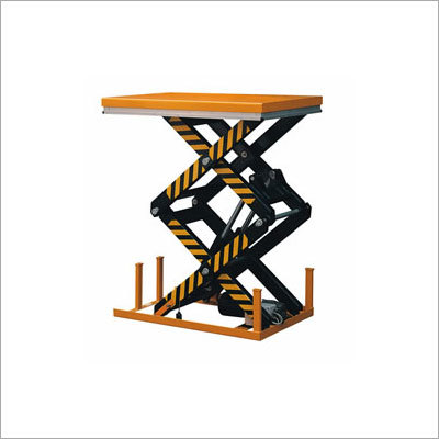 Stationary Hydraulic Lift Table