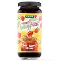 Raspberry Jam Cooked with Honey No Sugar