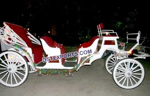 Beautiful Touring Wedding Carriage