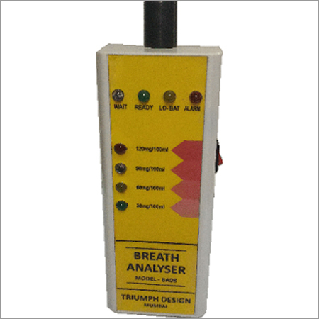 Industrial Alcohol Breath Analyser