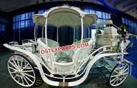 Beautiful Princess Horse Carriage