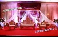 Elegant Stage Sofa Set for Marriage
