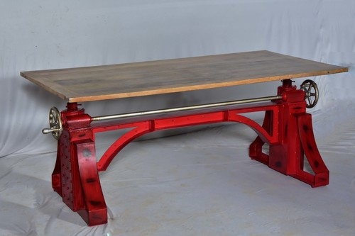 Vintage Industrial Ferrari Dinning Table