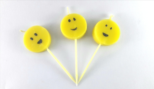 Smiley Candles