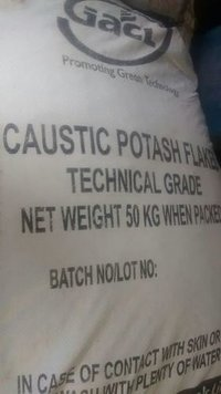 Caustic Potash Flakes GACL