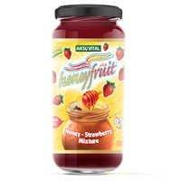 Strawberry Jam in Honey