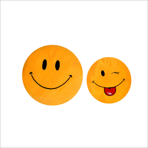 Smiley Stuffed Cushion