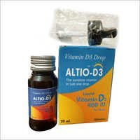 Altio-D3 Liquid Syrup