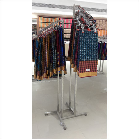 Stainless Garment Display Stand