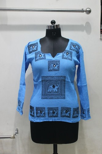 Ladies Rayon Top