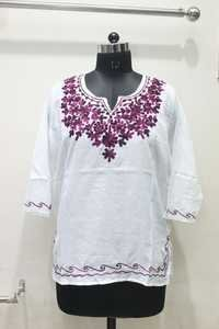 Embroidered Women Kurti