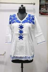 12 panel Embroidered Kurti