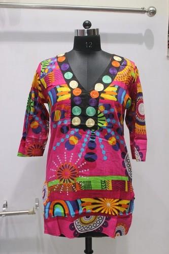 Ladies Multicolor Kurti