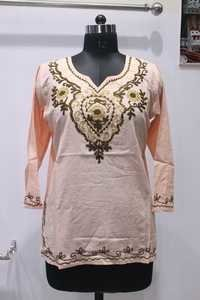 Coloured Cotton Kurti