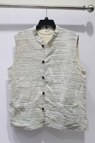 Cotton waistcoat with two pockets