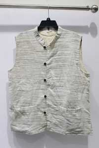 khadi waistcoat with two pockets