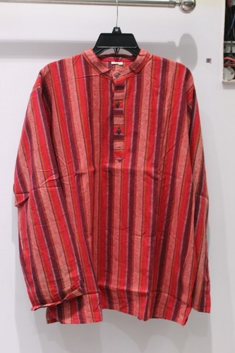 Stripe Full Sleeves Mens Kurta