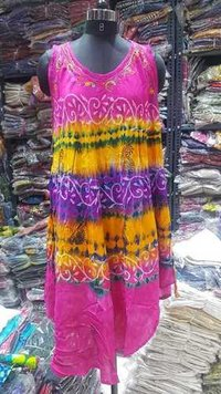 Umbrella Tie Die Multi Dress