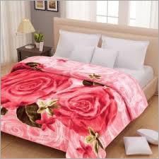 Double Bed Designer Mink Blanket