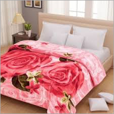 Double Bed Designer Mink Blanket