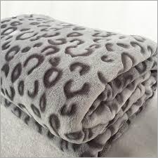 Designer Faux Mink Blanket