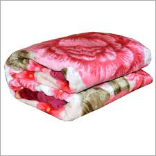 Single Bed Designer Mink Blanket