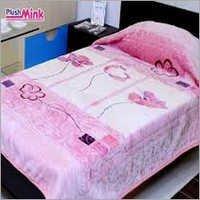 Pink Plush Mink Blanket