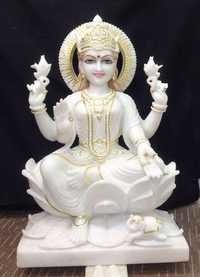 Marble Laxmi Sculpture