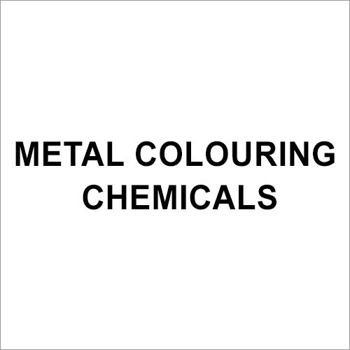 Metal Colouring Chemicals