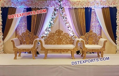 Beautiful Stage Sofa Set for Marriage