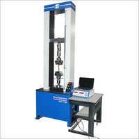 AC Servo Controlled Ball Screw Type Universal Testing Machine