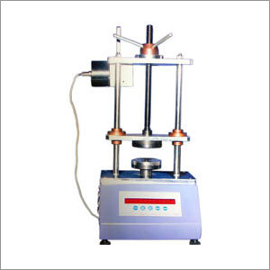 Manually Operated Spring Testing Machine