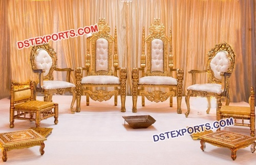 Traditional Mandap Chair for Wedding