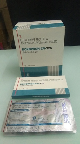 Cefpodoxime 200, Clavulanic Acid 125