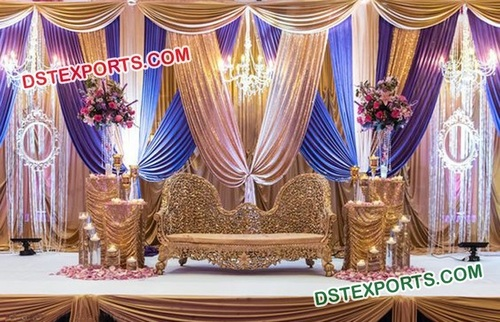 Elegant Stage Decorations for Wedding