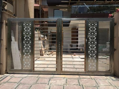 SS Laser Cutting Gates