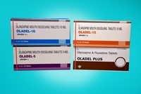 Olanzapine 10 , Fluoxetine 20