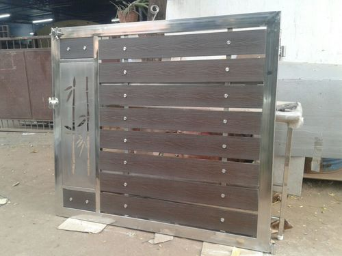 Stainless Steel Laser Cutting Main Gates