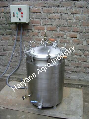Stainless Steel Milk Boiler