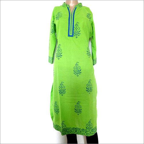 Green Ladies Kurtis